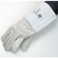 Sschweisserhandschuhe weiss Gr.10