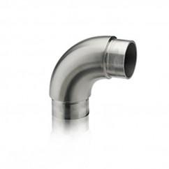 Rundbogen satiniert für Rohr 42,4 x 2,0 mm 30-4220-60S