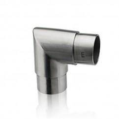 Eckbogen satiniert für Rohr 42,4 x 2,0 mm 30-4220-61S