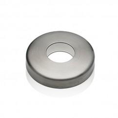 Edelstahl Rosette Abdeckrosette V2A poliert Durchmesser 125,0 mm 42-12525-75S