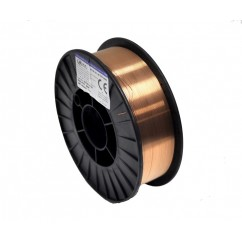 SCHWEISSDRAHT SG2 0,8 MM VERKUPFERT ( 5KG-ROLLE)